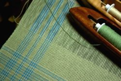 weaving one of the Lakeside napkins