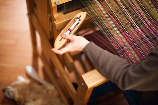 slow weaving